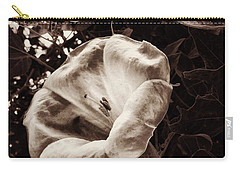 Bloom In Sepia Carry-all Pouch