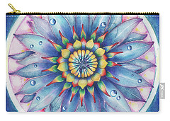 Bloom Of Counsciousness Carry-all Pouch by Anna Ewa Miarczynska