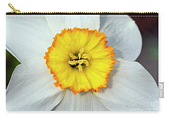 Bloom Of Narcissus Carry-all Pouch by Michal Boubin