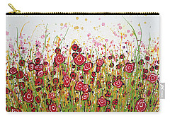 Bloom Yourself Happy Carry-all Pouch