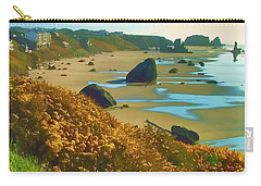 Blooming Bandon Watercolor Carry-all Pouch