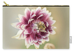 Blooming Columbine Flower Carry-all Pouch