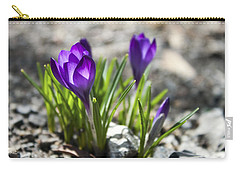 Blooming Crocus #1 Carry-all Pouch