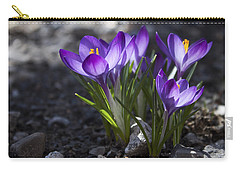 Blooming Crocus #2 Carry-all Pouch