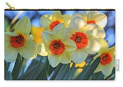 Blooming Daffodils Carry-all Pouch