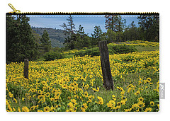 Blooming Fence Carry-all Pouch