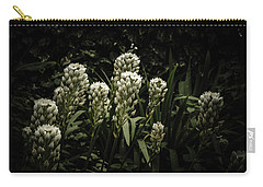 Carry-all Pouch featuring the photograph Blooming In The Shadows by Marco Oliveira
