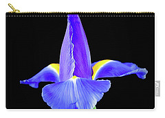 Blooming Iris 1318-1 Carry-all Pouch