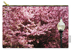 Carry-all Pouch featuring the photograph Blooming Light by Cyryn Fyrcyd