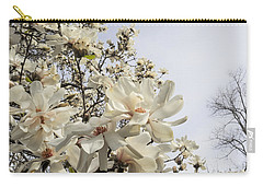 Blooming Magnolia Stellata Star Magnolia Tree Carry-all Pouch
