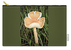 Carry-all Pouch featuring the photograph Blooming Mushroom by Sheila Brown