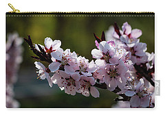 Blooming Peach Tree Carry-all Pouch