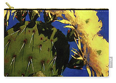 Blooming Prickly Pear Carry-all Pouch