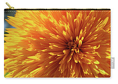 Blooming Sunshine Carry-all Pouch by Marie Leslie