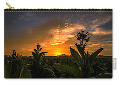 Blooming Tobacco Carry-all Pouch