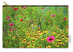 Carry-all Pouch featuring the photograph Blooming Wildflowers by D Davila