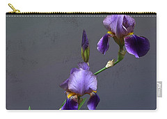 Iris Blooms In May Carry-all Pouch