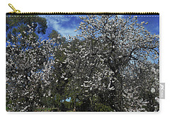 Carry-all Pouch featuring the photograph Blossom Bomb by Mark Blauhoefer