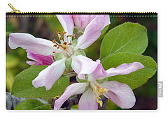 Blossom Duet Carry-all Pouch by Carla Parris