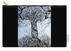 Blossom At Any Age Carry-all Pouch by Anna  Duyunova