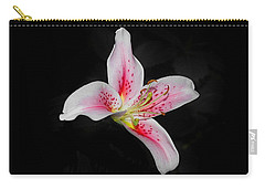 Blossom On Black Carry-all Pouch