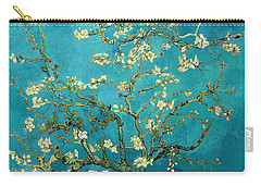 Carry-all Pouch featuring the painting Blossoming Almond Tree by Van Gogh