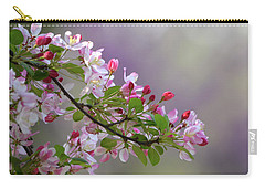 Carry-all Pouch featuring the photograph Blossoms And Bokeh by Ann Bridges