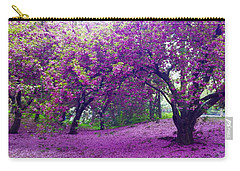 Blossoms In Central Park Carry-all Pouch