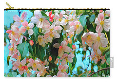 Blossoms Of Spring Carry-all Pouch by Miriam Danar