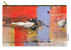 Blowin In The Wind - Colorful Linear Abstract Art Study Carry-all Pouch