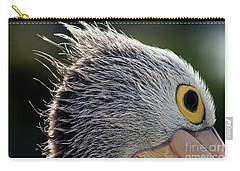 Carry-all Pouch featuring the photograph Blowin' In The Wind by Stephen Mitchell