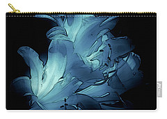 Blue Abstract No. 1 Carry-all Pouch