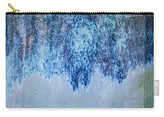 Blue Abstract One Carry-all Pouch