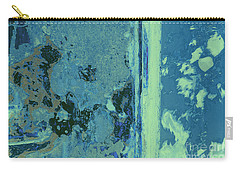 Blue Abstraction Carry-all Pouch