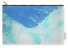 Carry-all Pouch featuring the painting Blue Abyss by Nikki Marie Smith