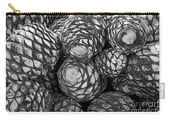 Carry-all Pouch featuring the photograph Blue Agave Hearts  by John  Mitchell