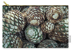 Carry-all Pouch featuring the photograph Blue Agave Hearts Mexico by John  Mitchell