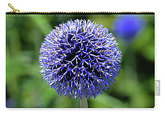 Blue Allium Carry-all Pouch by Terence Davis