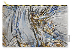 Blue And Gold 3 Carry-all Pouch