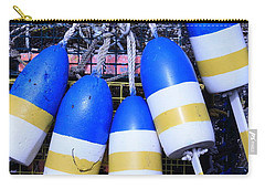 Blue And Gold Bouys Carry-all Pouch