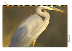 Blue And Gold  Carry-all Pouch by Don Wright