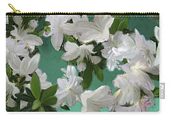 Blue And White Flower Art  Carry-all Pouch