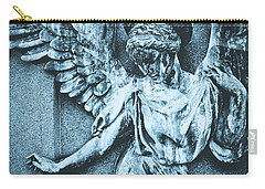 Blue Angel Carry-all Pouch by Colleen Kammerer