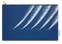 Blue Angels Formation Carry-all Pouch by John A Rodriguez