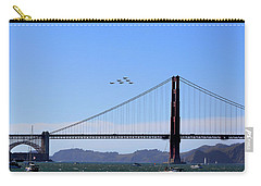 Blue Angels Over Golden Gate Bridge Carry-all Pouch