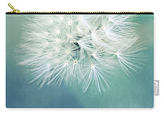 Carry-all Pouch featuring the photograph Blue Awakening by Trish Mistric