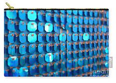 Blue Carry-all Pouch by Barbara Bardzik