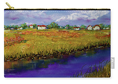 Blue Bayou - Pastel Painting Carry-all Pouch by Barry Jones