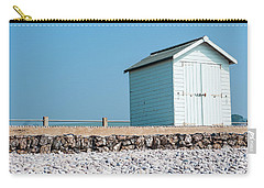 Blue Beach Hut Carry-all Pouch