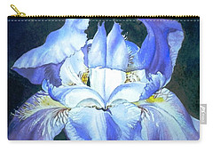 Blue Beauty Carry-all Pouch by Sandra Phryce-Jones